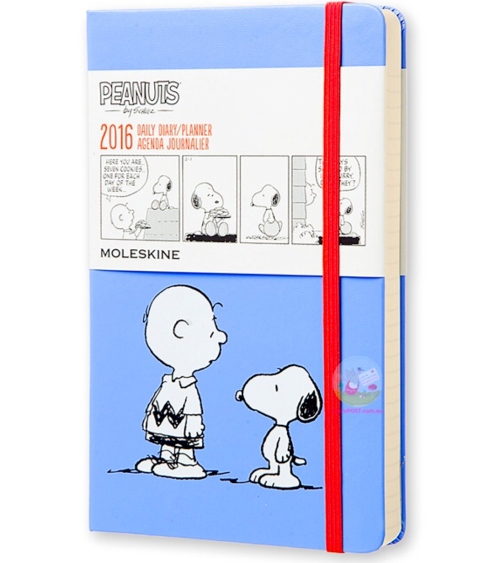 Peanuts Moleskin - Daily Planner