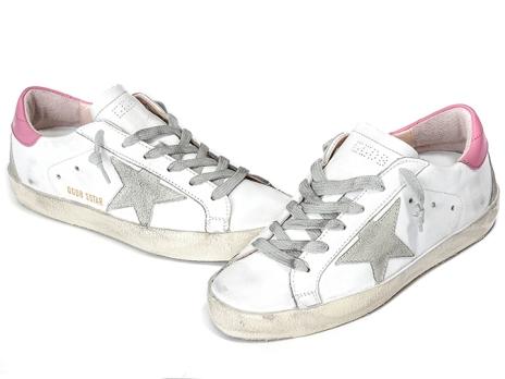 Golden-Goose-Sneakers-Unisex-Flats-Pink-white-Women-Men-Sneakers-GGDB-Golde-Low-Genuine-Leather-Men